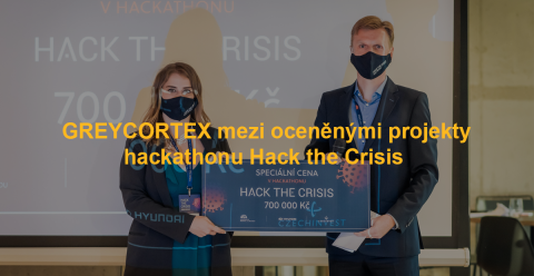 GREYCORTEX na Hack the Crisis